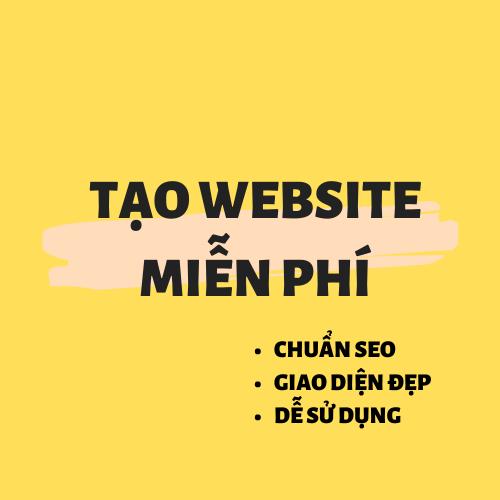 Tạo Website Bán Hàng Miễn Phí  30s.