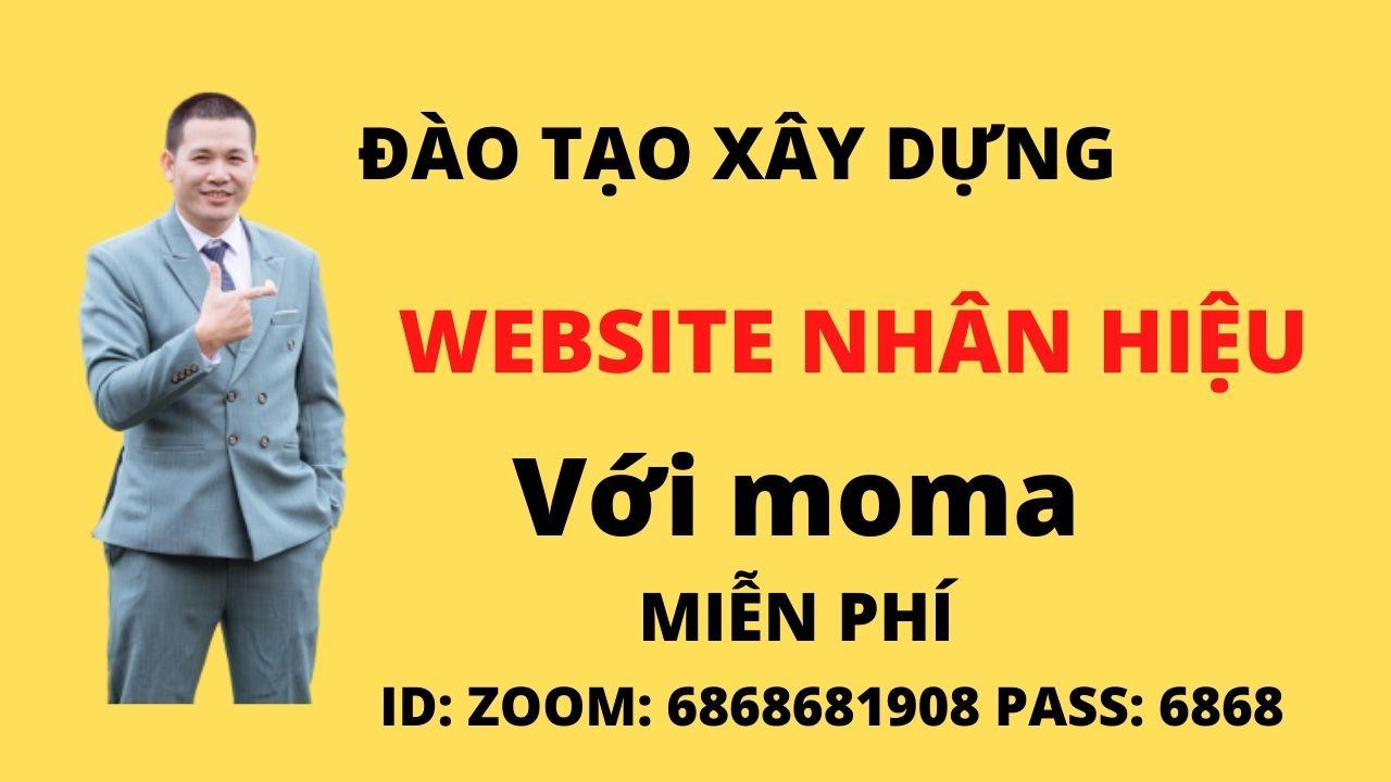 Đào tạo xây dựng website marketing nhân hiệu miễn phí