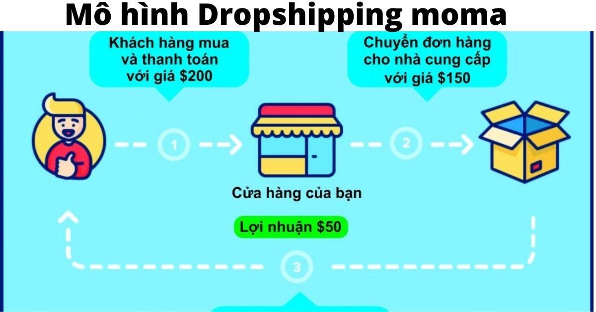 DropShipping Là Gì? Tạo sao moma lại là đơn vị số 1 thị trường